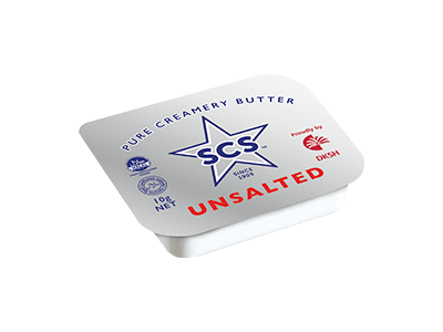 Portion Butter –<br/>Unsalted 10g