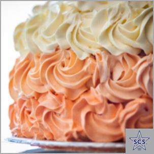 Very Vanilla Ombre Cake